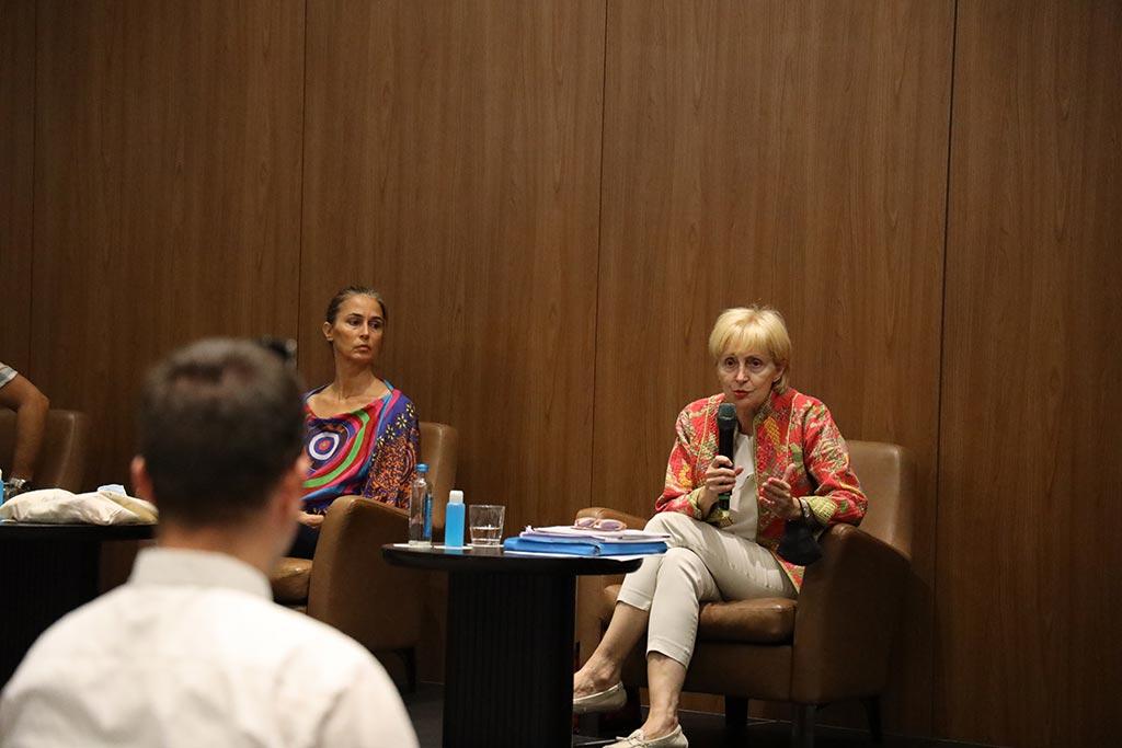 Лилјана Поповска, говорник на конференција